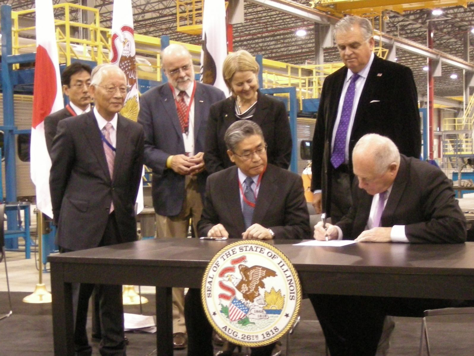 SCOA, Illinois Governor, U.S. Transporation Secretary Announce Landmark Railcar Manufacturing Contract